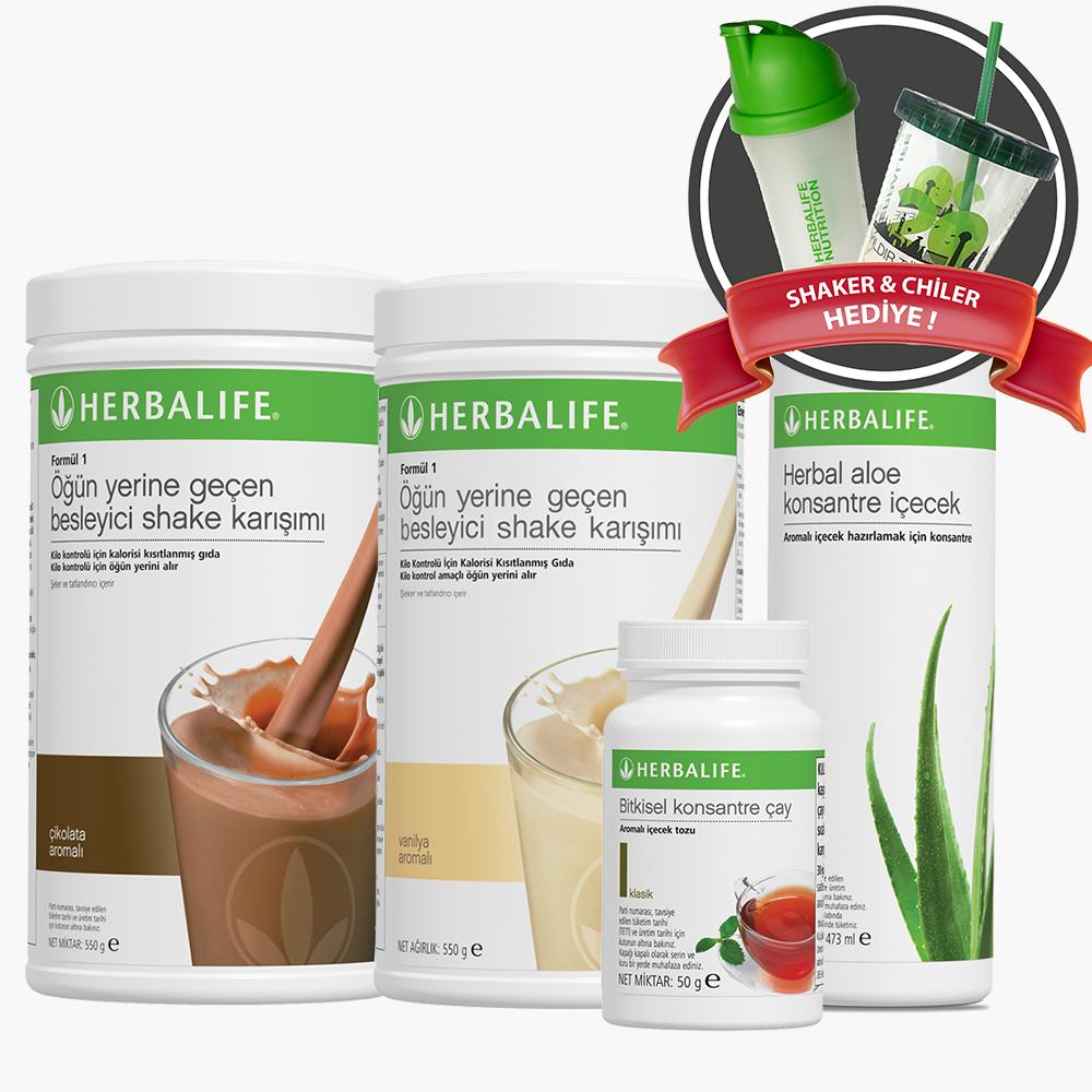 Herbalife Temel Beslenme Seti 2- herbalgetir